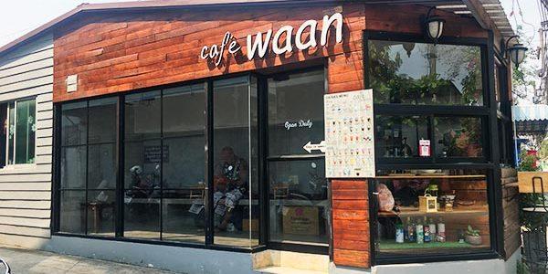 Cafe Waanでタイミルクティーを飲んだ in チェンマイ