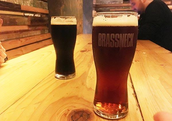 Brassneck beer