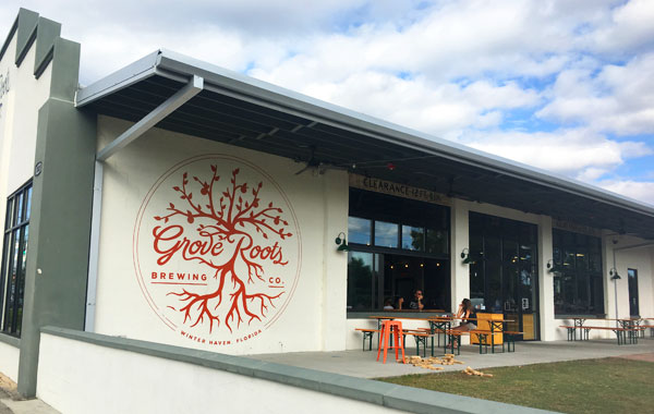 Grove Roots Brewing 外観