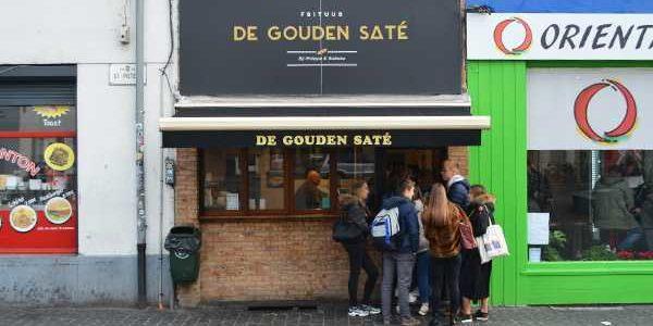 ゲントで人気のフリッツ(フライドポテト)を食べてきた ! in ベルギー