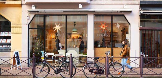 リールの町にあるおしゃれなカフェcoøk kaffeに行ってきた in フランス