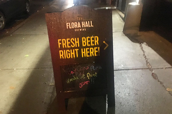Flora Hall Brewing