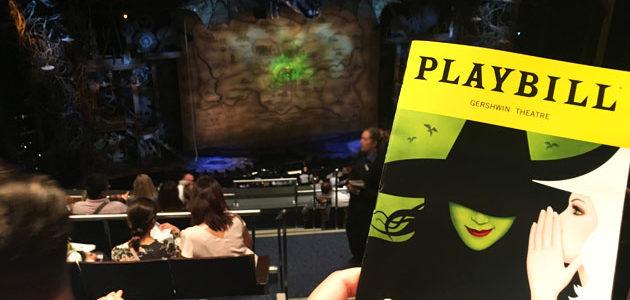 ブロードウェイミュージカル「ウィキッド」の出待ちをしてきた! in ニューヨーク