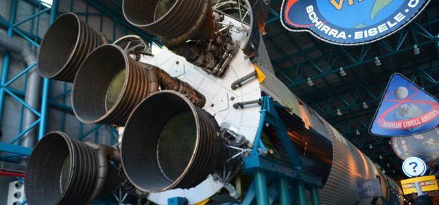 NASA(ケネディ宇宙センター)に観光に行ってきた in フロリダ
