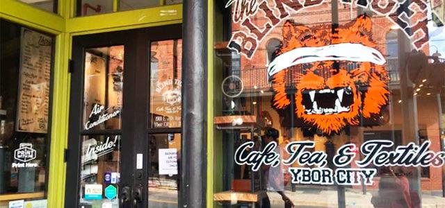 おしゃれカフェBLIND TIGER CAFEへ行ってきた in タンパ