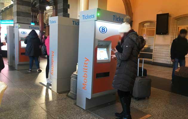 SNCB tickets