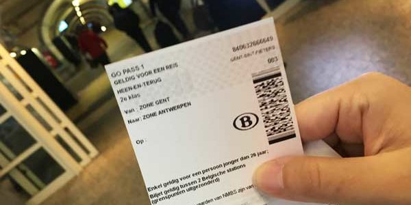 ベルギー国鉄のチケットの買い方まとめ