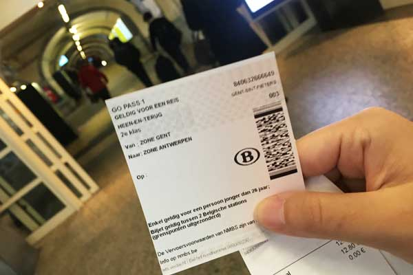 SNCB-tickets